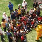 Fundación Telefónica México ayudó a formar a los más pequeños sobre cómo actuar en caso de siniestro.