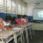 Fundación Telefónica organiza ocho talleres que se están llevando a cabo en tres comunidades de Sonsonate para   fomentar valores en 20 integrantes del programa Jóvenes