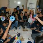 La cantante española convivió con los estudiantes y conoció detalles de Proniño en México.