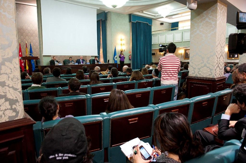 La presentación del Informe se desarrolló en el Paraninfo del Rectorado de la Universidad Politécnica de Madrid.