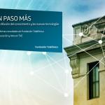 """La 2 de TVE emite este viernes a las 19:30 en el espacio La Sala un nuevo programa sobre Fundación Telefónica: """"Un Paso Más en la difusión del conocimiento y las nuevas tecnologías""""."""