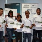 Los ganadores de las becas participaron de un proceso de selección realizado, en distintos puntos de Panamá, por Fundación Telefónica y el Consejo del Sector Privado para la Asistencia Educacional (Cospae).