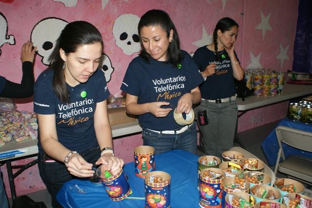 Gracias a los Voluntarios Telefónica celebramos el Día del Niño con beneficiarios de Fundación Telefónica
