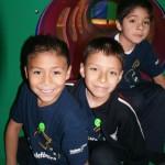 Con motivo de la celebración del Día del Niño, Fundación Telefónica, con el apoyo de los Voluntarios, realizó un evento en beneficio de 250 niños y niñas de tercer año de primaria.