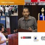 Jóvenes Fundación Telefónica Perú fue uno de los participantes en el debate planteado por la Organización Internacional del Trabajo (OIT) sobre empleo juvenil.