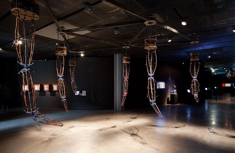Imagen de la exposición: 'Arte y Vida Artificial. VIDA 1999 – 2012′