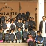 La campaña 'Inicio de Clases' es otra de las propuestas del Programa Voluntarios Telefónica que busca facilitar   la provisión de útiles escolares a alumnos de escasos recursos, y en situación de vulnerabilidad social.