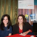 Vanessa Perigault, coordinadora de Jóvenes Fundación Telefónica en Panamá Mónica Chirino, responsable de Jóvenes Fundación Telefónica en Panamá.