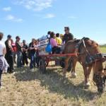 Los voluntarios acompañan y asisten a los niños durante todo el desarrollo de actividad.
