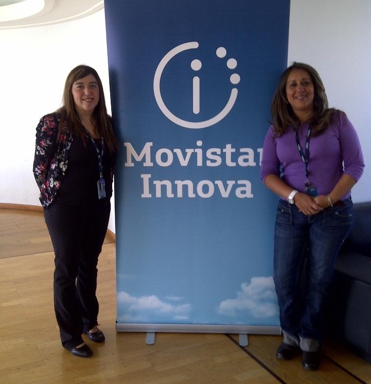 Un grupo de Jóvenes Fundación Telefónica Chile participa en talleres de innovación