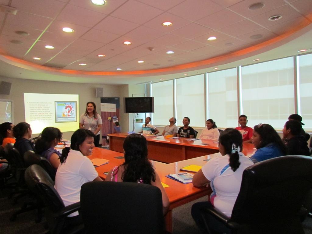 La actividad llevada a cabo por Jóvenes Fundación Telefónica de Panamá enseñó a los participantes la importancia de planear el futuro