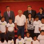Esta actividad se enmarca en el día mundial contra el trabajo infantil.