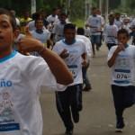Jiquilisco también corrió en contra el trabajo infantil junto a Fundación Telefónica.