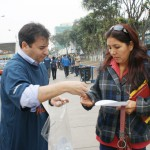 El pasado 12 de junio, los Voluntarios Telefónica realizaron una intervención urbana en 79 esquinas de 18 ciudades de Perú.