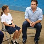 Recientemente, el periodista y presentador de canal 14 Jorge Hurtado realizó un Vive Fundación Telefónica, donde pudo compartir experiencias junto a varios niños y niñas de la escuela Francisco Morazán de Managua.