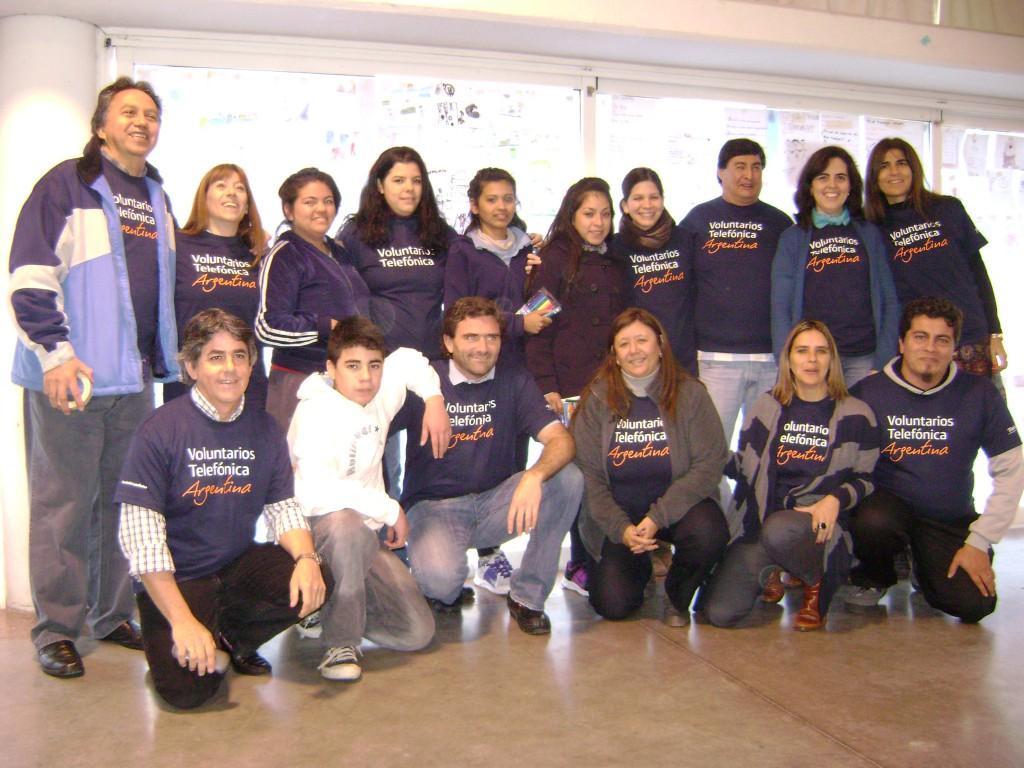 El 12 de de junio nuestros Voluntarios dictaron talleres para reflexionar sobre la problemática junto a la comunidad educativa del Colegio Madre Teresa.