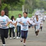 El evento contó con la participación de más de 500 niños y niñas atendidos por Proniño, quienes corrieron 3 kilómetros para sensibilizar sobre la necesidad de contribuir a erradicar el trabajo infantil.