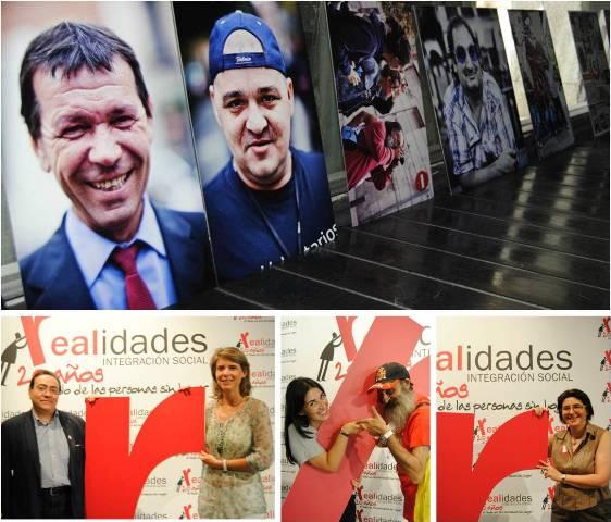 Los Voluntarios Telefónica participaron en el vigésimo aniversario de la Asociación Realidades