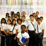 """Más de 100 alumnos visitaron la exposición """"Psicomecánicos y otras proposiciones"""", logrando descubrir el porqué de su creación e interactuando con todas sus obras."""