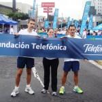 Telefónica  y Fundación Telefónica realizaron el domingo 17 de junio la primera Carrera Proniño contra el Trabajo Infantil en El Salvador.