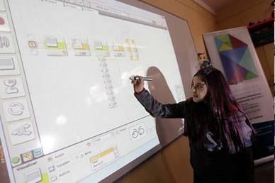 El colegio del futuro se hace realidad en Chile gracias a Telefónica y Fundación Telefónica