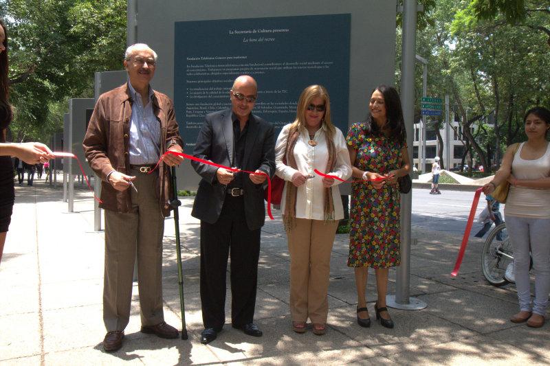 La exposición se podrá contemplar en en la Ciudad de México hasta el 3 de julio en la Avenida Paseo de la Reforma, frente al número 222.