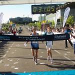 La carrera madrileña contó, además de con 6.000 corredores voluntarios, con la generosa participación de los atletas Martín Fiz, Chema Martínez y Alejandro Santamaría.