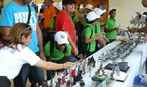 Los estudiantes asistieron en la Universidad Tecnológica de Panamá a diversas actividades de orientación vocacional y motivacional.