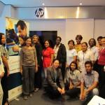 Jóvenes Fundación Telefónica de Panamá asistieron a Taller de Redes Sociales.
