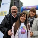 De izquierda a derecha, Carlos Tomada, ministro de Trabajo y Seguridad Social de Argentina; Maria del Pilar Rey Mendez, presidenta de la CONAETI, y Carmen Grillo directora de Fundación Telefónica Argentina.