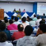 Al encuentro acudieron representantes de las 97 escuelas beneficiadas por el programa Proniño de Fundación Telefónica. También participaron representantes del Ministerio de Educación de Nicaragua y la Organización Internacional Contra el Trabajo Infantil- OIT.