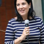 Valentina Ríos, gerente general de Fundación Telefónica en Venezuela, fue la encargada de dar la bienvenida a los 70 adolescentes que acudieron al encuentro.