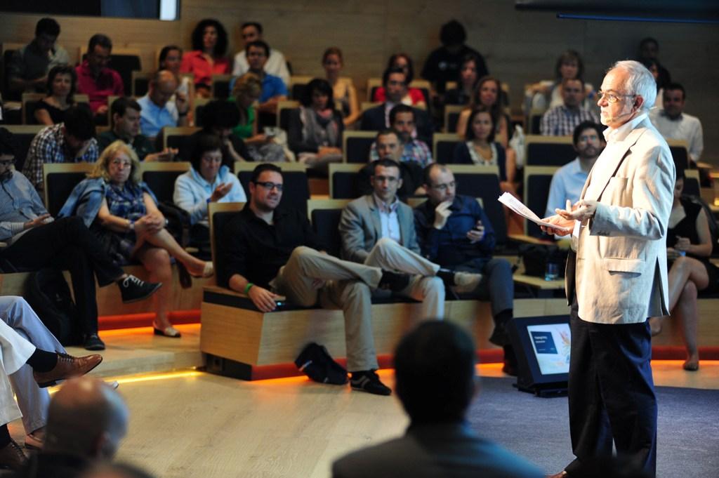 Javier Nadal, vicepresidente ejecutivo de Fundación Telefónica, durante su intervención en Thinking Party.