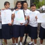 En el proyecto participaron más de 150 estudiantes de cinco escuelas de la zona occidental del país, que se hermanaron con escuelas de España y otros países de Latinoamérica.