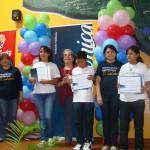 Posteriormente visitaron  el Museo de los Niños Tin Marín,  y finalmente recibieron su respectivo diploma de participación.