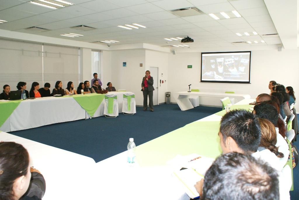 Giovanna Bruni, Directora de Fundación Telefónica, durante su intervención en el encuentro.