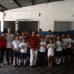 El artista Mario Montenegro apoya a Fundación Telefónica en la lucha contra el trabajo infantil en Nicaragua.