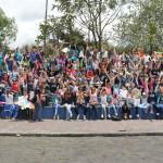 El Ministerio de Trabajo, el Instituto Colombiano de Bienestar Familiar (ICBF), y Fundación Telefónica realizaron este sábado 25 de agosto, el Primer festival de la cometa contra el trabajo infantil.