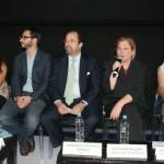 Giovanna Bruni, directora de Fundación Telefónica México, durante su intervención en la presentación de la campaña.