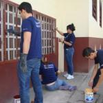 Actividad desarrollada en San Cristóbal.