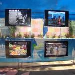 El material fotográfico fue realizado por un grupo de 10 niños, niñas y adolescentes que están bajo el programa Proniño, que contribuye a la erradicación del trabajo infantil  mediante una escolarización de calidad.
