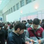 El encuentro tuvo lugar en el marco de la Feria Abierta de Orientación Vocacional 2012 (FAVOC), en la que participaron 56 jóvenes, los pasados 29, 30 y 31 de agosto en el Edificio Telefónica, en Santiago.