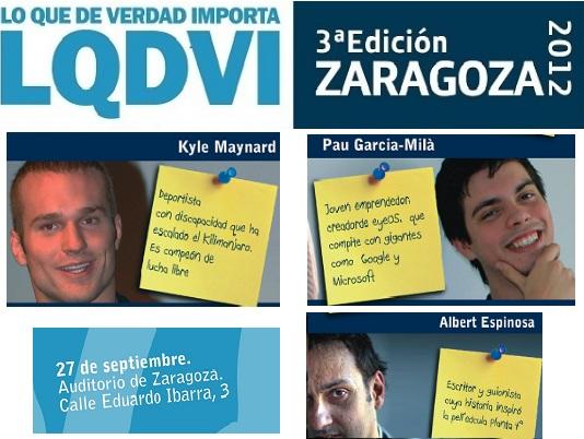 """Vuelve a Zaragoza el Congreso de Jóvenes """"Lo Que De Verdad Importa"""""""