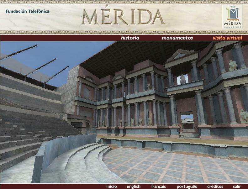 El Teatro Romano.
