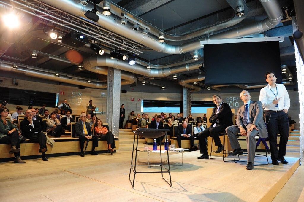 La presentación de Think Big Jóvenes España ha tenido lugar en el Espacio Fundación Telefónica.
