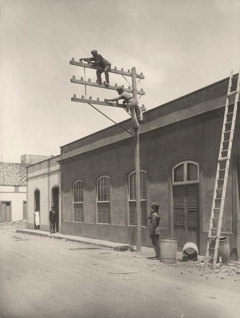 Anónimo, h.1927. Línea Agaete-Las Palmas.