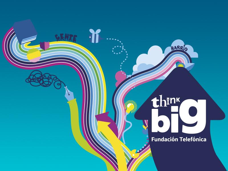 Fundación Telefónica descubre los intereses de los jóvenes españoles a través de la convocatoria Think Big