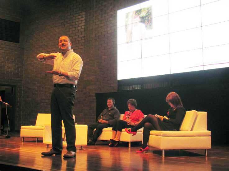 En Medellín el evento presencial contó con la asistencia de 610 profesionales que, entre otros ponentes, conocieron las ideas del británico Richard Gerver.