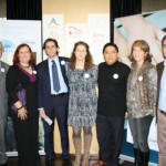 En el encuentro de Madrid se contó con la presencia de Javier Nadal, Vicepresidente Ejecutivo de Fundación Telefónica; José María Álvarez-Pallete, Consejero Delegado de Telefónica y Marián Juste, Directora de Voluntarios Telefónica..
