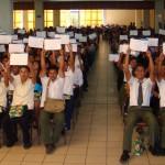 Fundación Telefónica ha celebrado recientemente la graduación de la cuarta promoción de bachilleres que han finalizado sus estudios con el apoyo del programa Proniño.